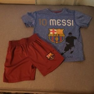 Other - FC Barcelona short set